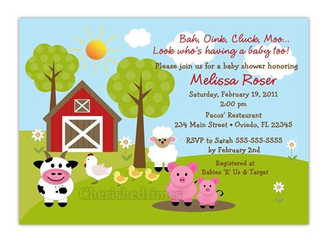 Free Printable Barnyard Farm Invitation Template Like This Item Do It Yourself Pinterest Farm Invitation Template