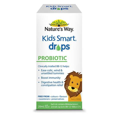 buy nature s way smart drops probiotic 20ml at chemist warehouse 174