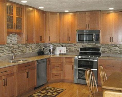 kitchen paint colors with oak cabinets and stainless steel appliances mini pendant lights for kitchen island uk archives