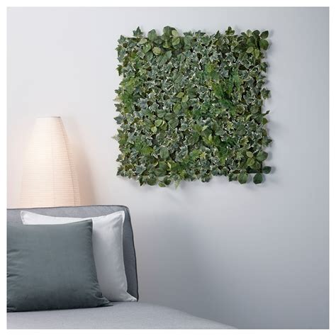 wall planters ikea fejka artificial plant wall mounted in outdoor green 26x26 cm ikea