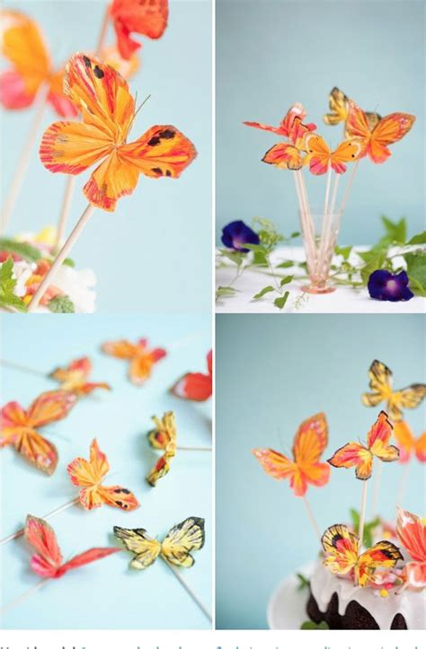 Craft With Crepe Paper - 17 best ideas about crepe paper crafts on
