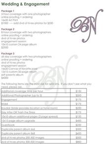 Wedding Photographer Price List Template 25 Best Ideas About Wedding Photography Pricing On