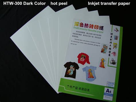 write on paper transfer to computer the informations inkjet heat tranfer paper for