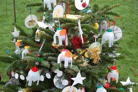 addobbi natalizi con riciclo creativo foto ecoo