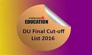 final cut pro jobs in delhi cut off system to be scrapped du mulls new process with