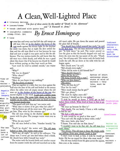 A Clean Well Lighted Place Essay by 3 Ways Not To Start A A Clean Well Lighted Place Essay