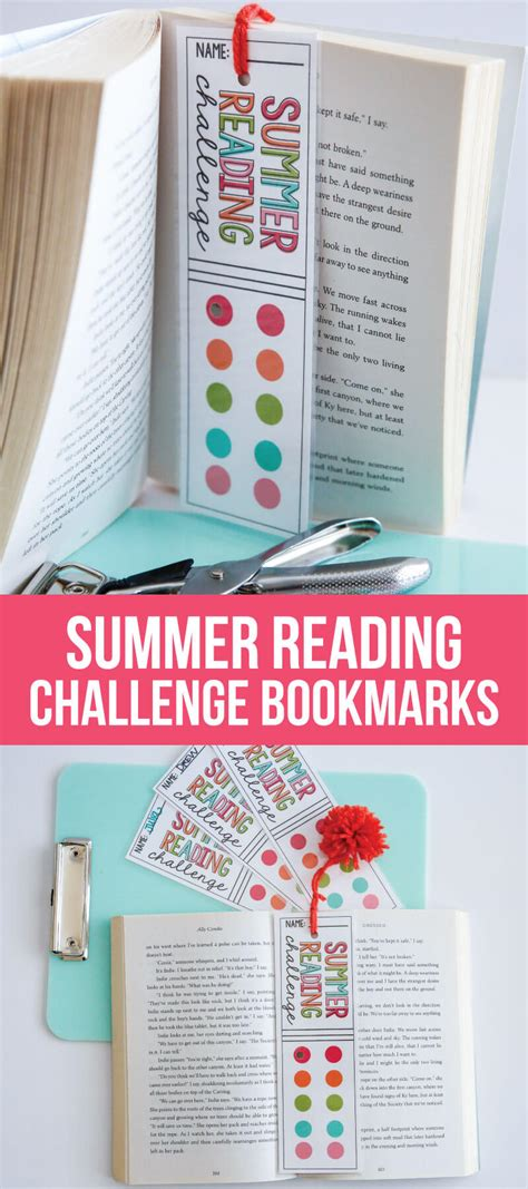 printable summer reading bookmarks summer reading challenge
