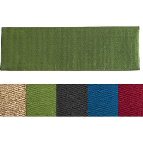 solid color rug runners ritz accent solid color runner rug altmeyer s bedbathhome