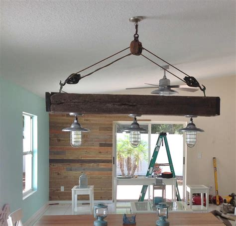 Atomic Chandelier Atomic Pendants Flavor Remodeled Beach Home With Nautical