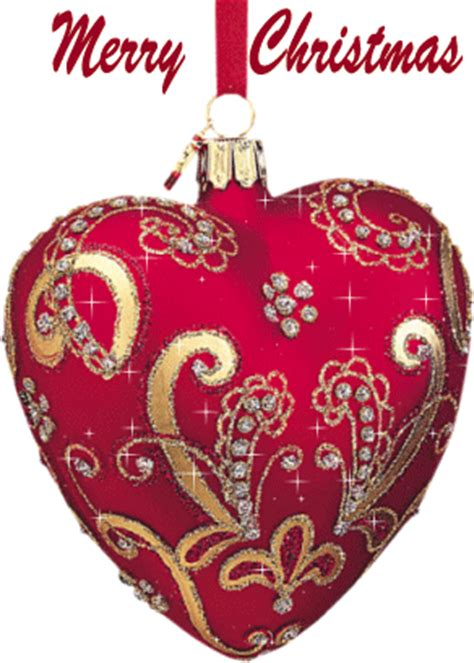 touching hearts gifs happy  year  merry christmas