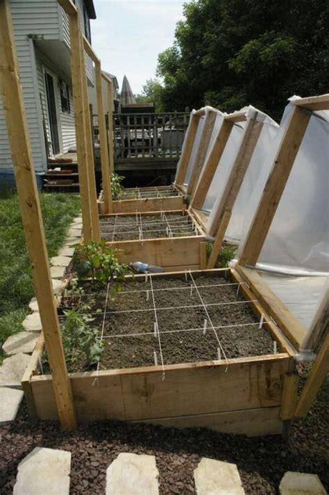 diy raised garden bed  cover  owner builder network