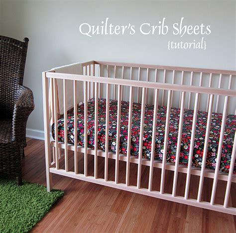Crib Sheets Tutorial by Stitched In Color Tutorial Quilter S Crib Sheets