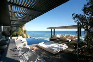Seaside Home Plans Contemporary Seaside Villa In Cape Town Idesignarch