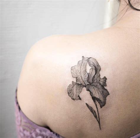 black iris tattoo 63 fabulous feminine design ideas tattooblend