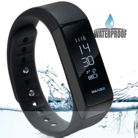 waterproof bluetooth fitness tracker bracelet smart wrist  band  iphone android  touch
