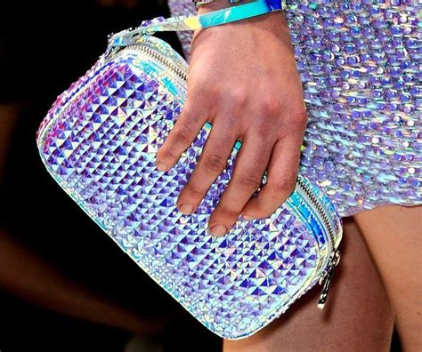 Lettering Hologram Clutch 17 best images about iridescent luminescent glitter