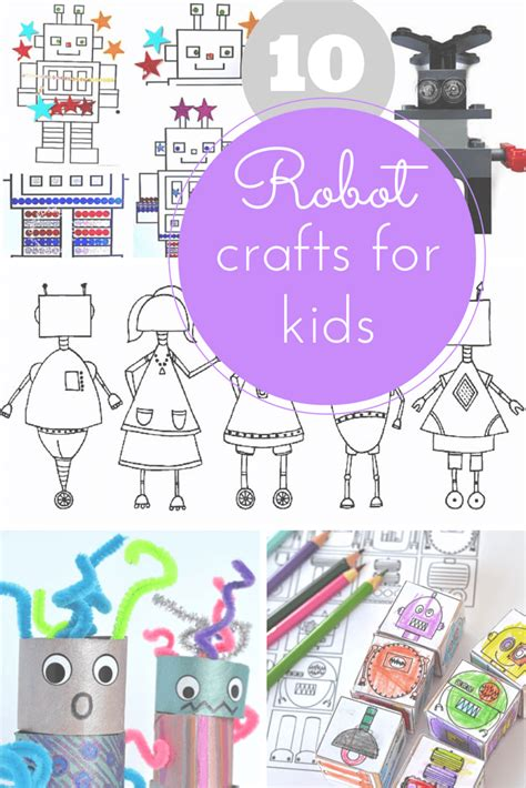 robot craft for 10 of the best robot crafts for