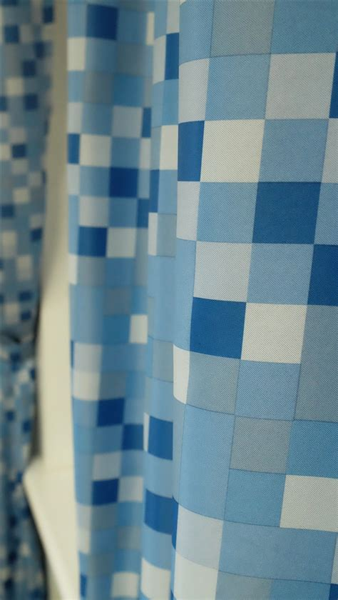 minecraft curtains for sale ready made curtains inspired by minecraft pixel blue
