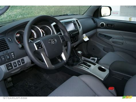 Toyota Tacoma 2013 Interior by Graphite Interior 2013 Toyota Tacoma V6 Trd Cab 4x4 Photo 70285510 Gtcarlot