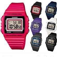 Jam Casio Standart Original W 215h stopwatch price harga in malaysia jam tangan