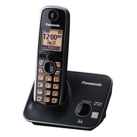 Telephone Wireless Panasonic Kx Tg3711bx Black corded phones store in india buy corded phones at