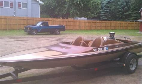 larson jet boats a 1973 18 quot tahiti jet boat with an olds 455 and a berkley