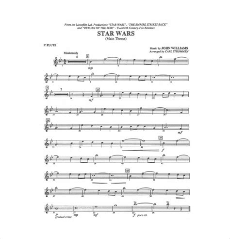 sheet music template 9 free word pdf documents