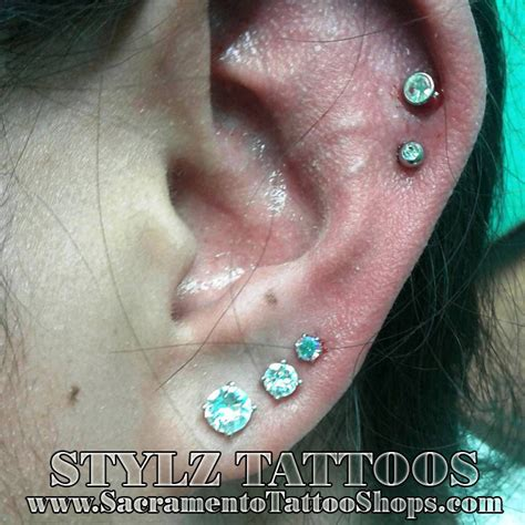 cartilage piercings earrings sacramento