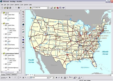 arcgis layout view data view arcgis desktop help 9 2 arcmap data view