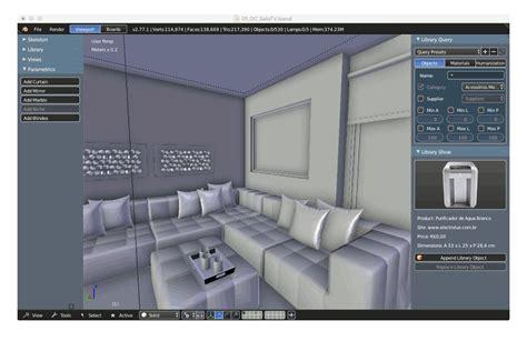 interiores  generation interior design  blender