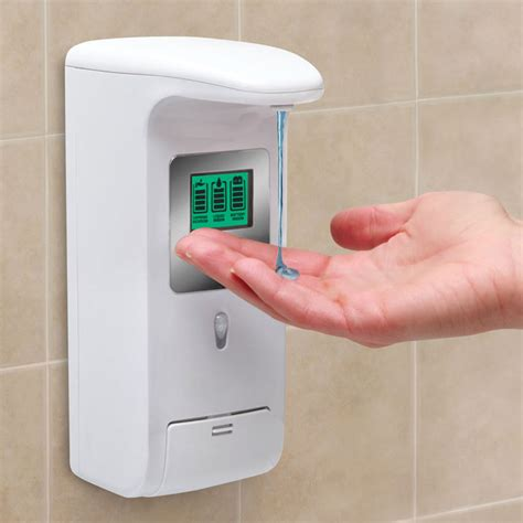 Shower Dispenser Wall Mounted by Hands Free Wall Mounted Shower Dispenser The Green Head