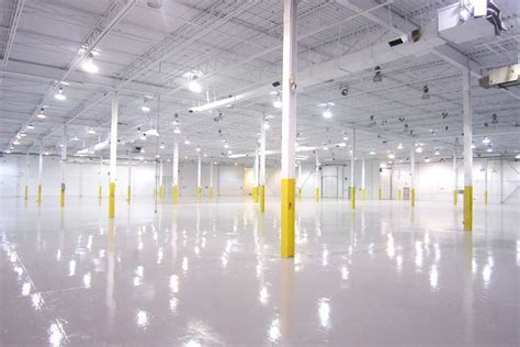 epoxy floor painting epoxy floor coating l painters of concrete floors in warehouse industrial