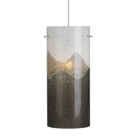 Lbl Lighting Dahling 1 Light Satin Nickel Xenon Mini Gray Pendant Light