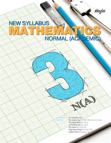 Discovering Mathematics Normal Academic 5 new syllabus maths textbook 3 normal academic