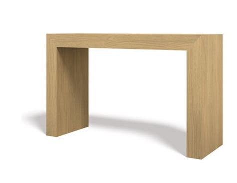 small console extending dining table