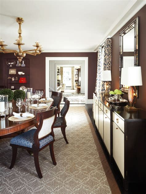 Brown Dining Blue Room Brown Dining Room Home Decor And Interior Design