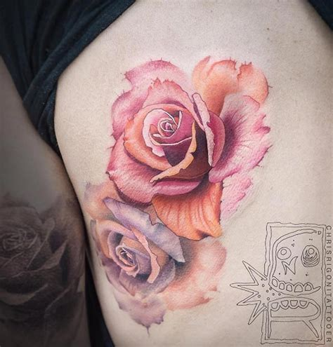 watercolor tattoos rose 70 gorgeous tattoos that put all others to shame