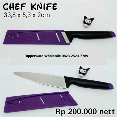 Pisau Tupperware by Jual Tupperware Chef Knife Pisau Tupperware Tajam