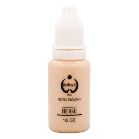 Biotouch Micropigment 12 Oz Pink biotouch permanent makeup beige cosmetic inks micro pigment color 5 oz ebay