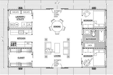 Box House Plans by Free Shipping Container Home Floor Plans