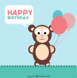 happy birthday card vector free - Free Happy Birthday Cards With