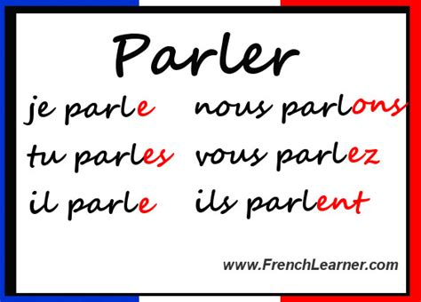 er verb pattern french best french websites