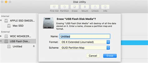 format flash drive as mac os extended how to clean install macos high sierra on your mac