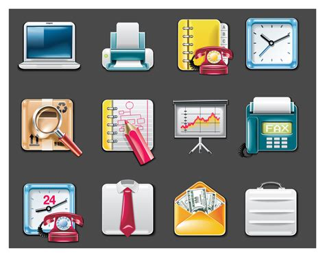 Office Supplies Icon Vector Office Supplies Icon Vector