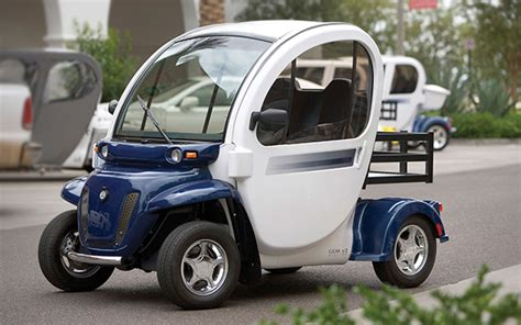Electric Car Options by Neighborhood Electric Vehicles A Marginal Option