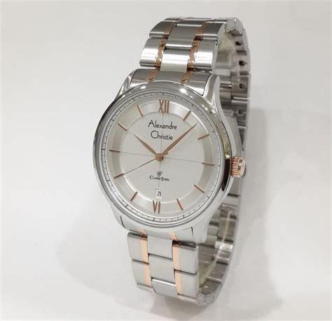 Alexandre Christie Automatic 3035mabssba Jam Tangan Pria Silver jam tangan alexandre christie automatic jualan jam tangan wanita