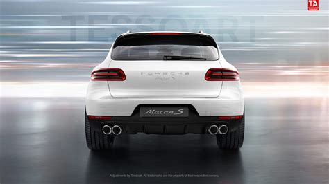 porsche macan white render porsche macan s in white with sportdesign wheels