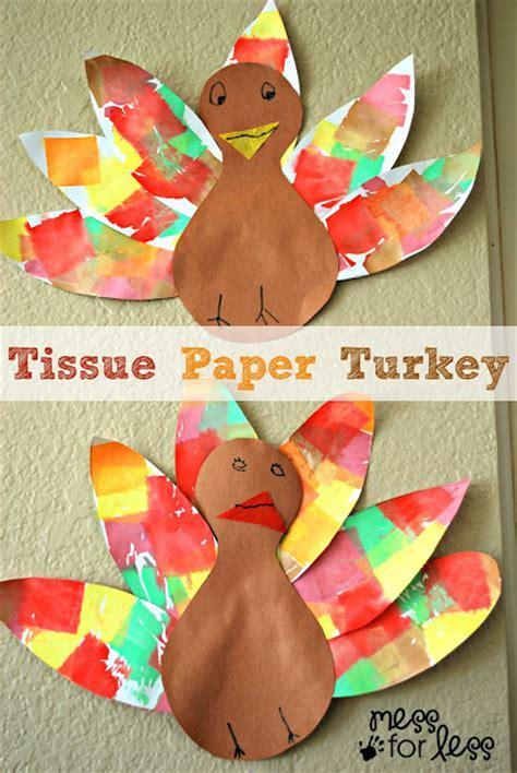 Paper Turkeys - 15 thanksgiving crafts clutter