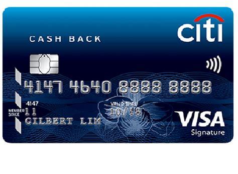 Visa Gift Card Cash Back - citibank cash back visa card moneyline singapore