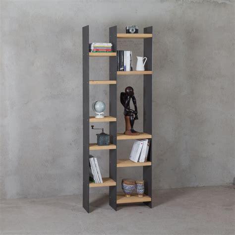 libreria in legno libreria ferro e legno